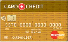 Кредитная карта Кредитная карта CARD CREDIT GOLD